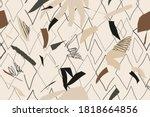 modern artistic illustration... | Shutterstock .eps vector #1818664856