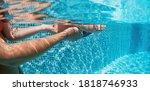 Happy People Dive Underwater...