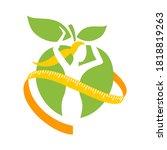 diet food logo   intermittent...   Shutterstock .eps vector #1818819263