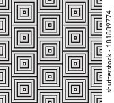 square pattern  | Shutterstock .eps vector #181889774