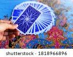 Tarot Card Reading On Cloth Fo...