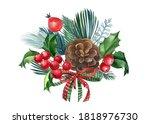 Christmas Decoration  Postcard...