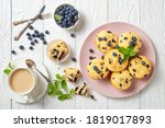 Blueberry Muffins Baked With...