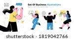 business concept illustrations. ...   Shutterstock .eps vector #1819042766
