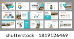 presentation slide layout... | Shutterstock .eps vector #1819126469