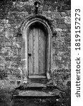 Old Wooden Church Door...