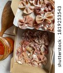 Bow Tie Pasta  Ribbon  With...