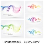 vector abstract dynamic... | Shutterstock .eps vector #181926899