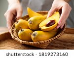Eggfruit Or Canistel In A...
