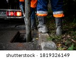 Cleaning Storm Drains From...