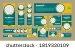 set of creative geometric web...   Shutterstock .eps vector #1819330109