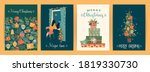 set of christmas and happy new... | Shutterstock .eps vector #1819330730