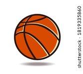 basketball   sport icon vector... | Shutterstock .eps vector #1819335860
