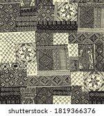 bandanna geometric pattern on... | Shutterstock .eps vector #1819366376