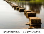 Stepping Stones Over A Small...