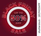 black friday sale banner... | Shutterstock .eps vector #1819433699