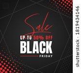 promotion black friday sale...   Shutterstock .eps vector #1819434146