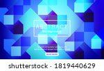 abstract bright vivid blue... | Shutterstock .eps vector #1819440629