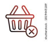 empty shopping cart icon logo...