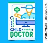 child doctor creative...   Shutterstock .eps vector #1819502276