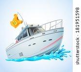 yacht | Shutterstock .eps vector #181951598