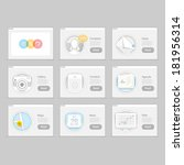 infographics elements kit   set ...