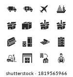 Transport Company Flat Glyph...