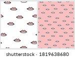 hand drawn seamless vector... | Shutterstock .eps vector #1819638680