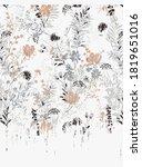 elegant retro style artwork...   Shutterstock .eps vector #1819651016