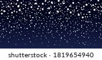 snow background. blue sky at... | Shutterstock .eps vector #1819654940