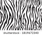 abstract zebra pattern design ... | Shutterstock .eps vector #1819672340