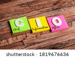 Colorful Square Papers With...