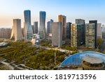 Hangzhou  China Night View Of...
