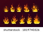 Fire Flames Burning Icons ...