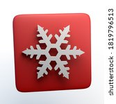 icon of a snowflake of...