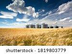 Grain Silos  Soda Springs  Idaho