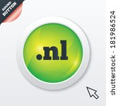 domain nl sign icon. top level...