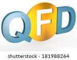 quality function deployment  ... | Shutterstock . vector #181988264