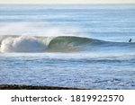 Sunlit Wave Breaking With...