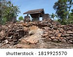 The Ruins Of The Candi Gayatri  ...