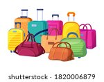 Travel Luggage  Plastic Case ...