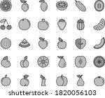thin line gray tint vector icon ... | Shutterstock .eps vector #1820056103