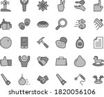 thin line gray tint vector icon ... | Shutterstock .eps vector #1820056106