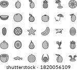 thin line gray tint vector icon ... | Shutterstock .eps vector #1820056109