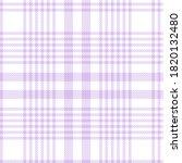 Purple Glen Plaid Textured...