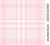 Pink Glen Plaid Textured...