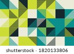 seamless geometric pattern with ... | Shutterstock .eps vector #1820133806