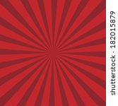 red rays background.... | Shutterstock .eps vector #182015879