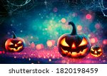 Halloween abstract party  ...