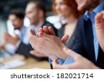photo of business partners      ... | Shutterstock . vector #182021714